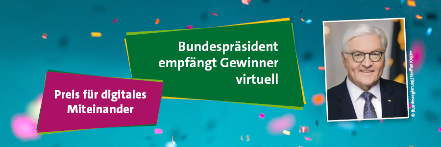 Bundespräsident empfängt Preisträger