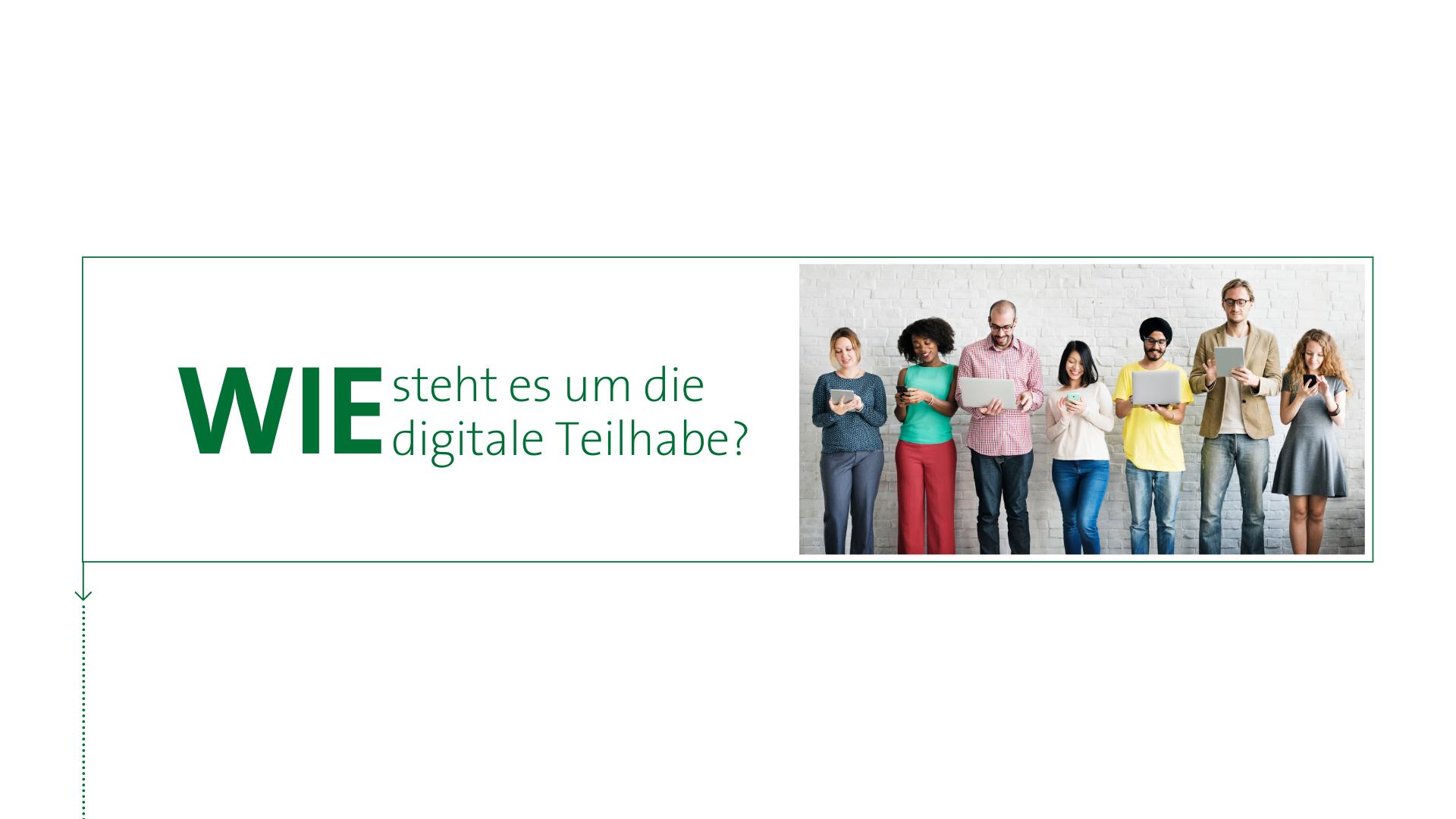 Wie steht es um die digitale Teilhabe in Deutschland?